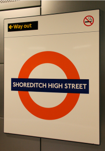 Shoreditch Tube